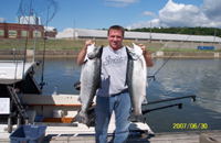 Jason enjoyed a great fishing trip in June 2007