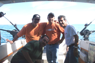 the boys from London  are comming to fish with Lake ontario Fishing charters